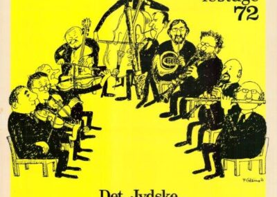 Plakat for Esbjerg Ensemble fra 1972